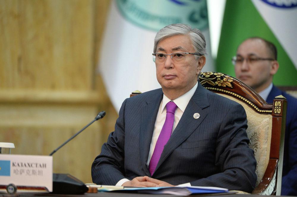 Новоизбранный президент Казахстана Касым-Жомарт Токаев