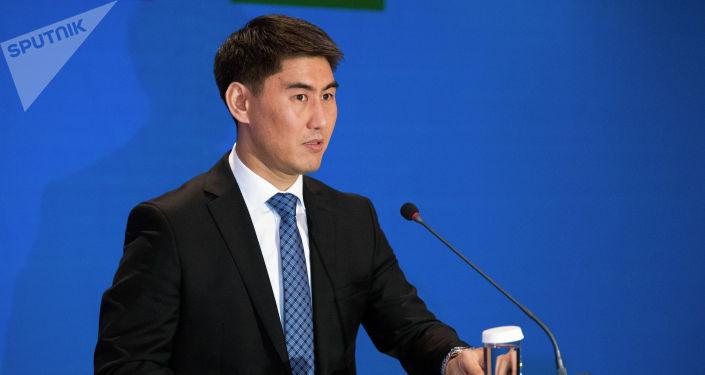 Архивное фото министра иностранных дел Кыргызстана Чингиза Айдарбекова