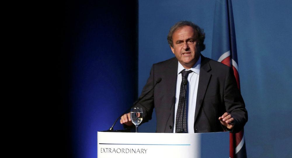 Бывший президент УЕФА Мишель Платини. Архивное фото