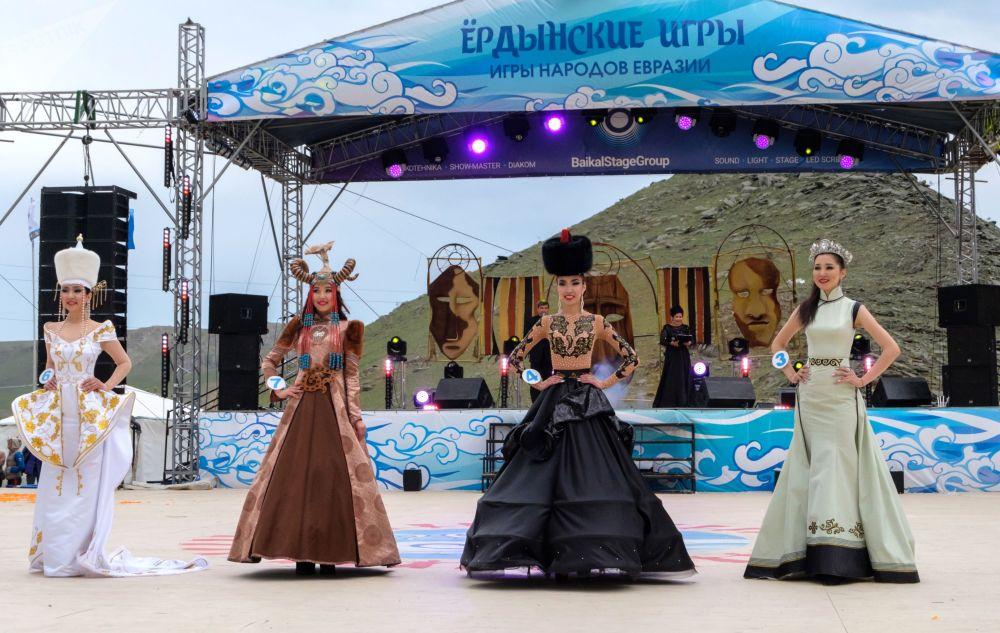 В рамках фестиваля проходил конкурс Красавица ёрдынских игр