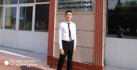 Выпускник кыргызко-турецкого лицея города Джалал-Абад получивший максимальное количество баллов на Общереспубликанском тестировании Элдияр Чормонов