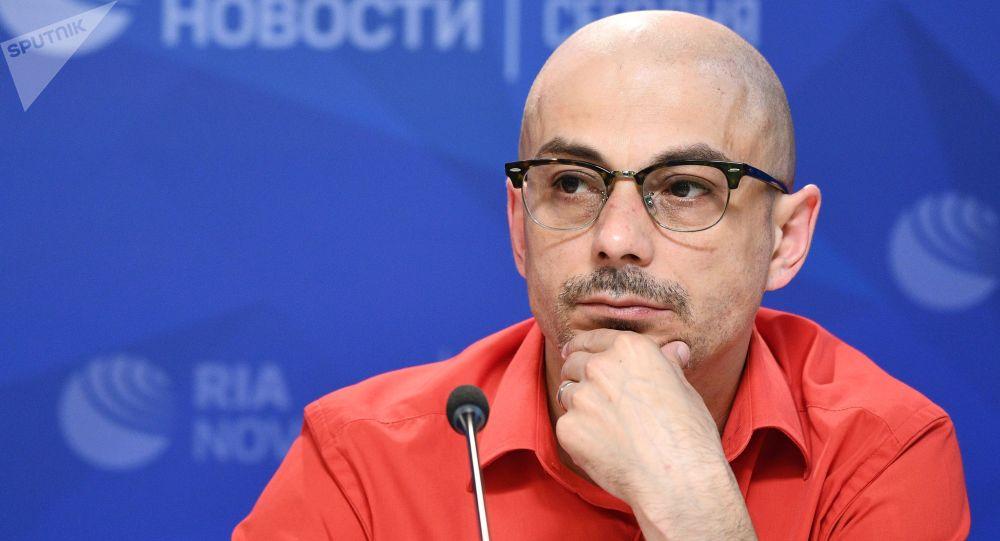 Публицист, журналист Армен Гаспарян. Архивное фото