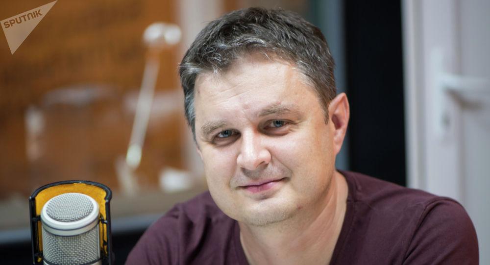 Режиссер, телеведущий Евгений Белокуров