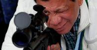 Филиппин президенти Родриго Дутерте. Архивдик сүрөт