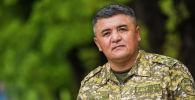 Өзгөчө кырдаалдар министрлигине караштуу Суучулдар кызматынын жетекчиси Урматбек Шамырканов. Архив