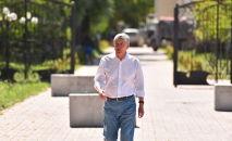 Кырыгзстандын мурдагы президенти Алмазбек Атамбаев. Архив