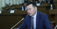 Жогорку Кеңештин вице-спикери Мирлан Бакиров. Архивдик сүрөт
