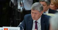 Экс-президент Алмазбек Атамбаев. Архив
