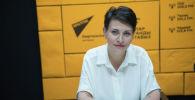 Специалист по коммуникациям крупной коммерческой компании Олеся Кущенкова во время беседы на радио Sputnik Кыргызстан