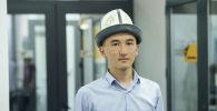 Илек-Илек жаштары коомдук бирикмесинин жетекчиси Элдияр Джээналиев