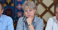 Жогорку Кеңештин депутаты Ирина Карамушкина. Архив