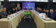 В Бишкеке состоялась рабочая встреча руководителей органов погранконтроля Совета командующих погранвойсками государств-членов СНГ