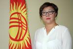 Глава Департамента информации Минкультуры КР Салкын Сарногоева