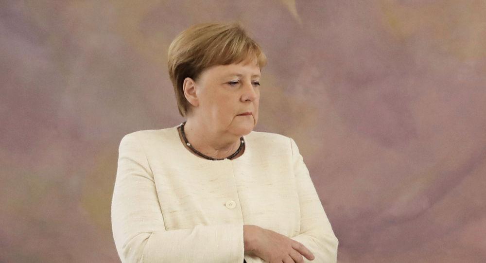 Германиянын канцлери Ангела Меркель. Архив