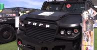 На форуме Армия–2019 в Подмосковье показали специальную бронированную машину Тигр в комплектации Рейд.