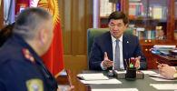 Премьер-министр КР Мухаммедкалый Абылгазиев провел совещание по реализации второй фазы проекта Безопасный город