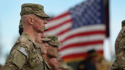 АКШ армиясынын жоокери. Архивдик сүрөт