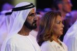 Премьер-министр ОАЭ, правитель Дубая шейх Мохаммед бен Рашид Аль Мактум и принцесса Хайя бинт аль-Хусейн. Архивное фото