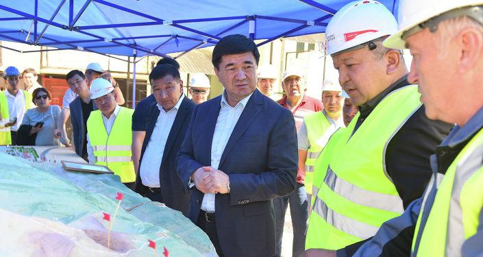 Премьер-министр Мухаммедкалый Абылгазиев посетил золоторудное месторождение Джеруй в Таласской области