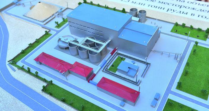 Строительство фабрики на золоторудном месторождении Джеруй в Таласской области