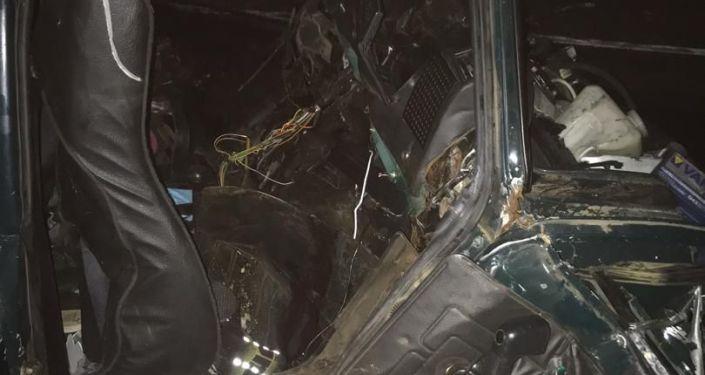 В Оренбургской области РФ в автомобильной аварии погибли три гражданина КР, которые возвращались на родину из Санкт-Петербурга