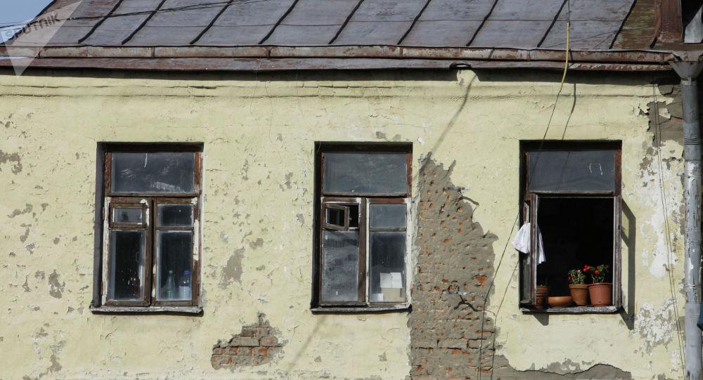 Старый дом. Архивное фото