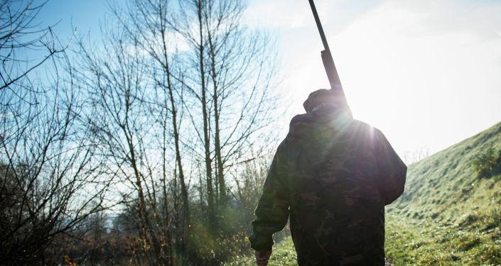 Охотник. Архивное фото