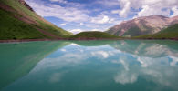 Озеро Кол-Тор в одноименном урочище в Чуйской области