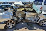 Sputnik Кыргызстан редакциясына Чолпон-Атада талкаланган Lexus менен BMW автоунааларынын сүрөтү келип түштү