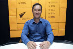 Директор Центра электронного здравоохранения Бахтияр Станбеков во время беседы на радио Sputnik Кыргызстан