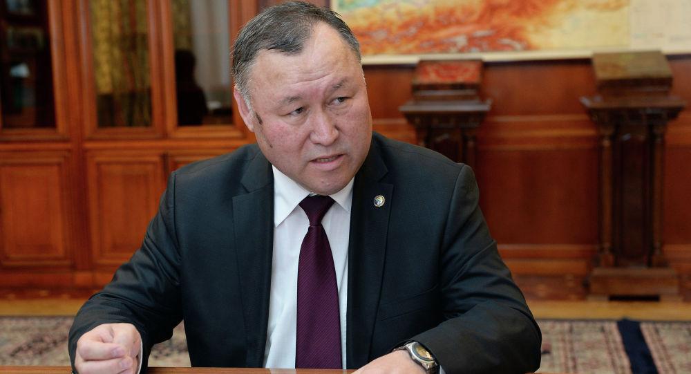 Председатель Государственной ипотечной компании (ГИК) Бактыбек Шамкеев