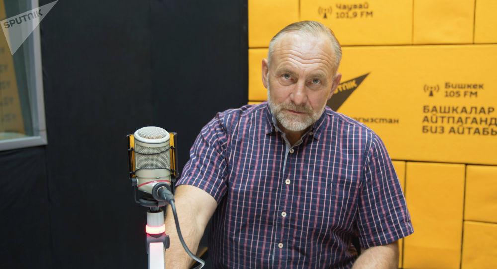 Президент Международной ассоциации ветеранов подразделения антитеррора Альфа в КР Юрий Погиба