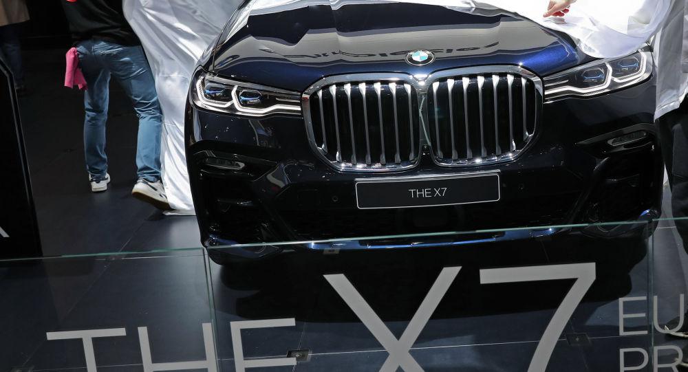 Автомобиль BMW X7. Архивное фото