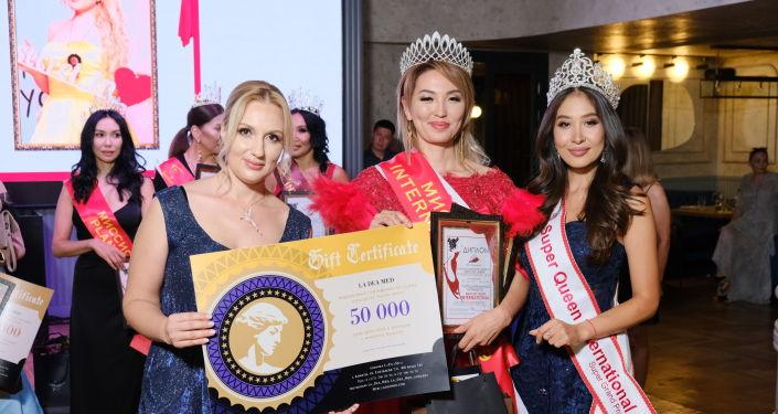 Обладательница титула Миссис Кыргызстан — 2019 Миргуль Бообекова стала победительницей международного конкурса красоты Missis Asia International 2019