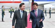 Түштүк Кореянын премьер-министри Ли Нак Ён Кыргызстанга расмий иш сапары менен келгенин өкмөттүн маалымат кызматынан кабарлашты