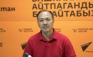 Главный внештатный пульмонолог Минздрава КР, профессор Талант Сооронбаев