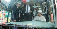 Бишкек мэри Азиз Суракматов түркиялык Анадолу групп холдингинин жетекчиси Тунджай Озильхан менен жолукту