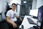 Профессиональный киберспортсмен, участник команды Natus Vincere (NAVI) Бакыт Zayac Эмилжанов. Архивное фото