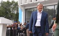 Бывший президент КР Алмазбек Атамбаев. Архивное фото