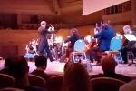 Юрий Каспарян выступил в Московском международном доме музыки.