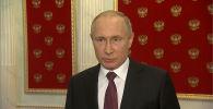 Кыргызстандыктар азыркы президентинин айланасына чогулуп, өлкөнүн өнүгүшү үчүн ага жардам бериши керек. Мындай пикирин Россия президенти Владимир Путин билдирди.