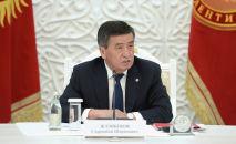 Президент КР Сооронбай Жээнбеков. Архивное фото