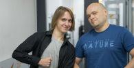 Организаторы квестов в Бишкеке Егор Паньшин (справа) и Илья Мисюрин