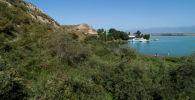 Вид на пристань близ Балыкчи. Архивное фото