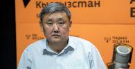 Глава Первомайского района Алибек Биримкулов. Архивное фото