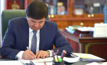 Премьер-министр КР Мухаммедкалый Абылгазиев. Архивное фото