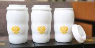 На китайской онлайн-платформе Taobao хитом продаж стал белый термос, похожий на термокружку президента России Владимира Путина, из которой он пил чай на ужине глав стран G20 в Осаке.