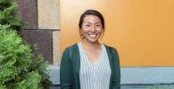 Японка Риса Мацумаро преподает курсы английского языка в Ат-Башинском районе Нарынской области