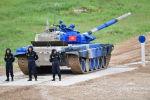 Экипаж танка Т-72Б3 команды армии Кыргызстана. Архивное фото