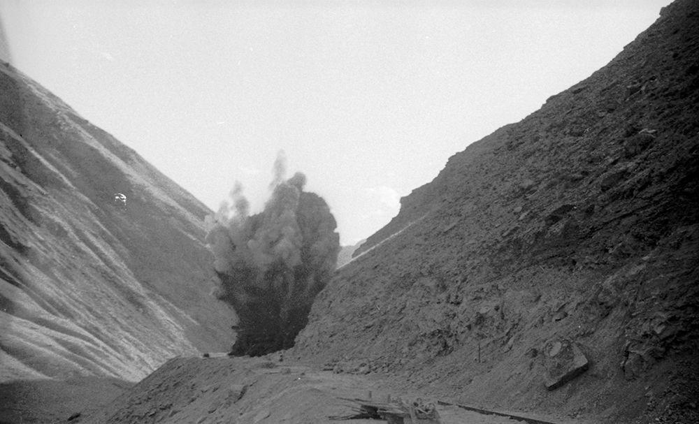 Кант — Балыкчы темир жолунун курулушу. 1948-жыл